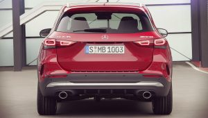 Mercedes Benz GLA 35 AMG 2020 Back Wallpaper
