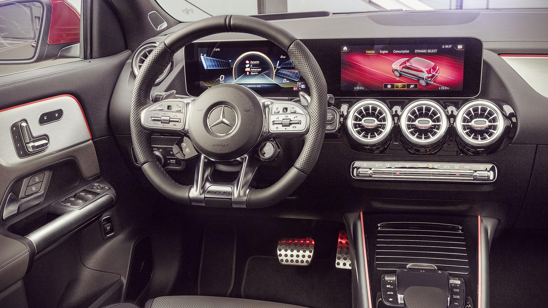 Mercedes Benz GLA 35 AMG 2020 Interior Wallpaper