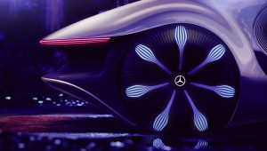 Mercedes Benz Vision Avtr Concept 2020 Wheel Wallpaper