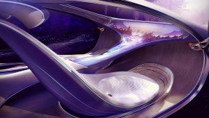 Mercedes Benz Vision Avtr Concept 2020 Interior
