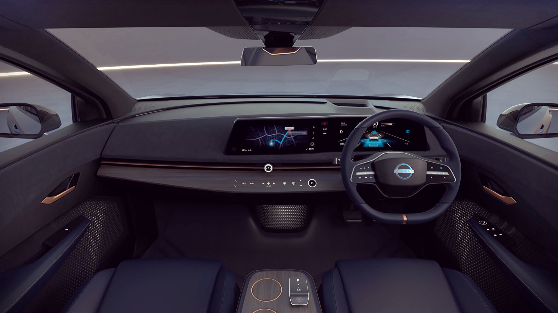 Nissan Ariya Concept Interior Wallpaper