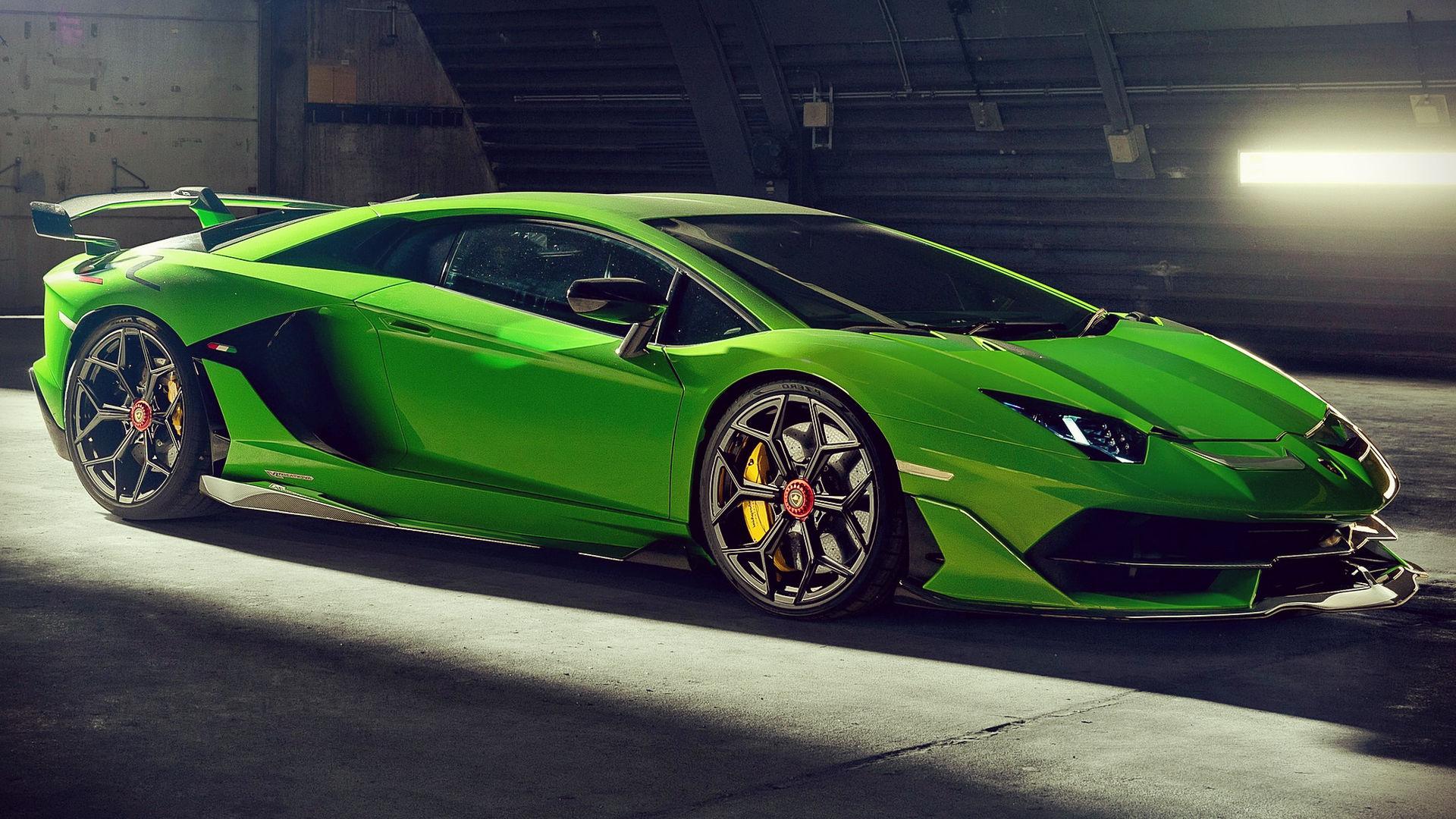 Novitec Lamborghini Aventador SVJ 2020