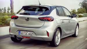 Opel Corsa 2020 Back Wallpaper