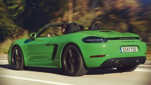 Porsche 718 Boxster GTS 4.0 2020 Back Wallpaper