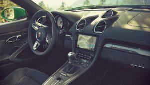 Porsche 718 Boxster GTS 4.0 2020 Interior