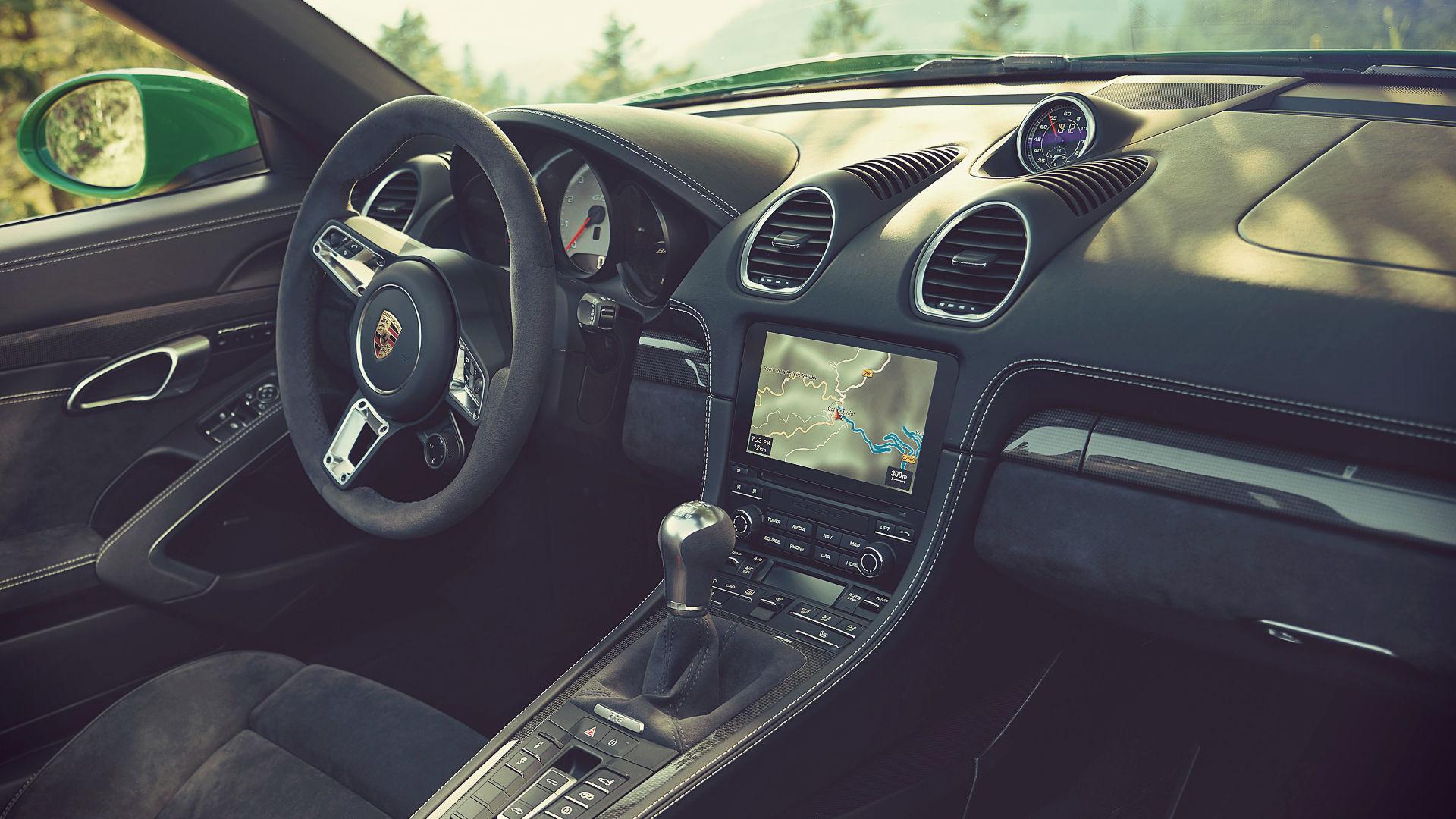 Porsche 718 Boxster Gts 4 0 2020 Interior