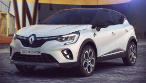 Renault Captur E-Tech Hybrid 2020 1