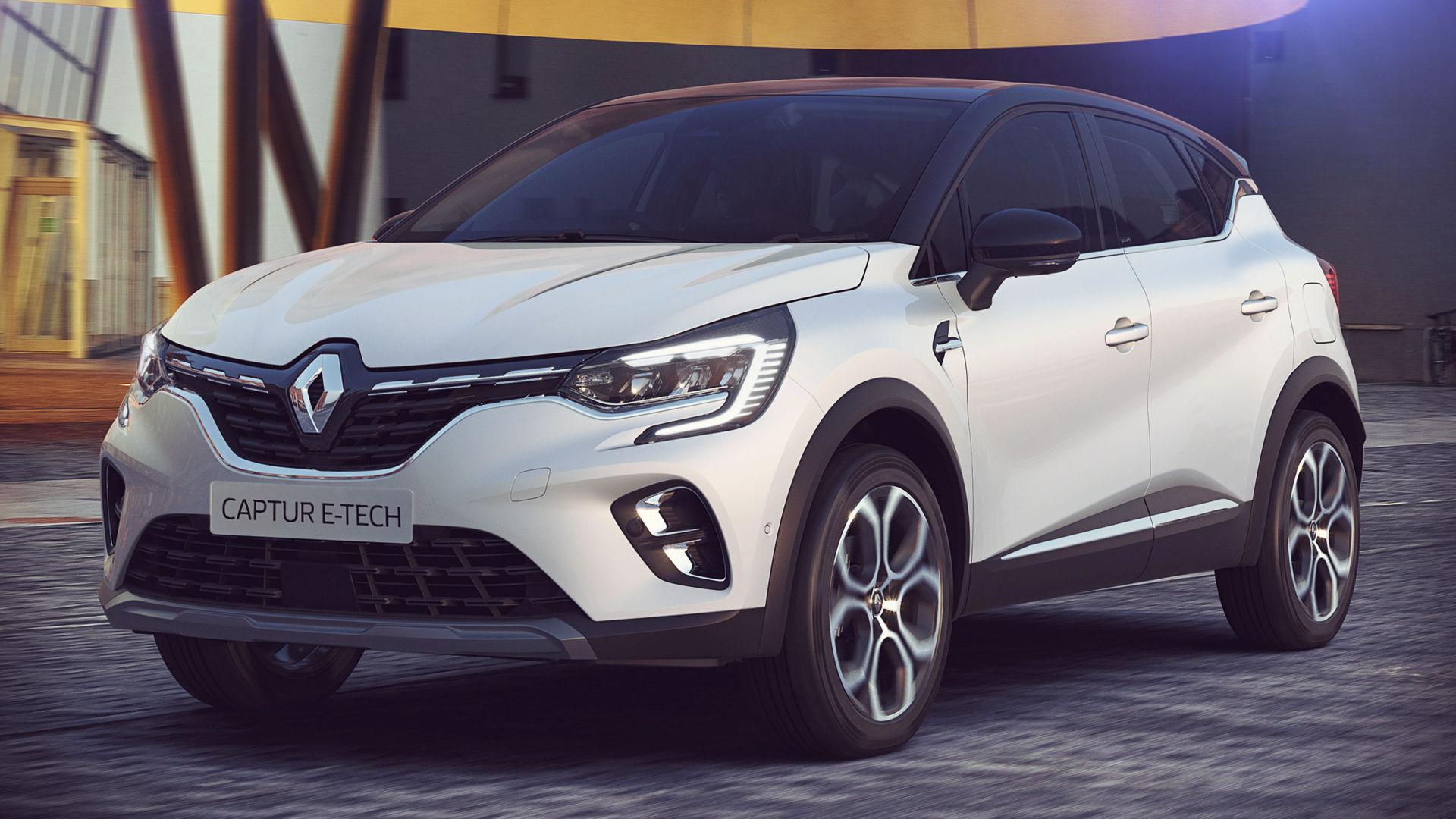 Renault Captur E-Tech Hybrid 2020