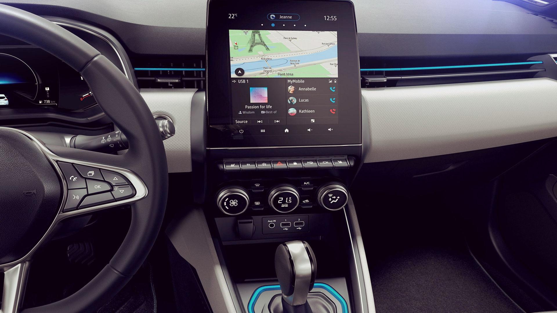 Renault Clio E Tech Hybrid 2020 Interior