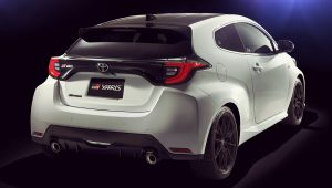 Toyota GR Yaris 2020 Back Wallpaper