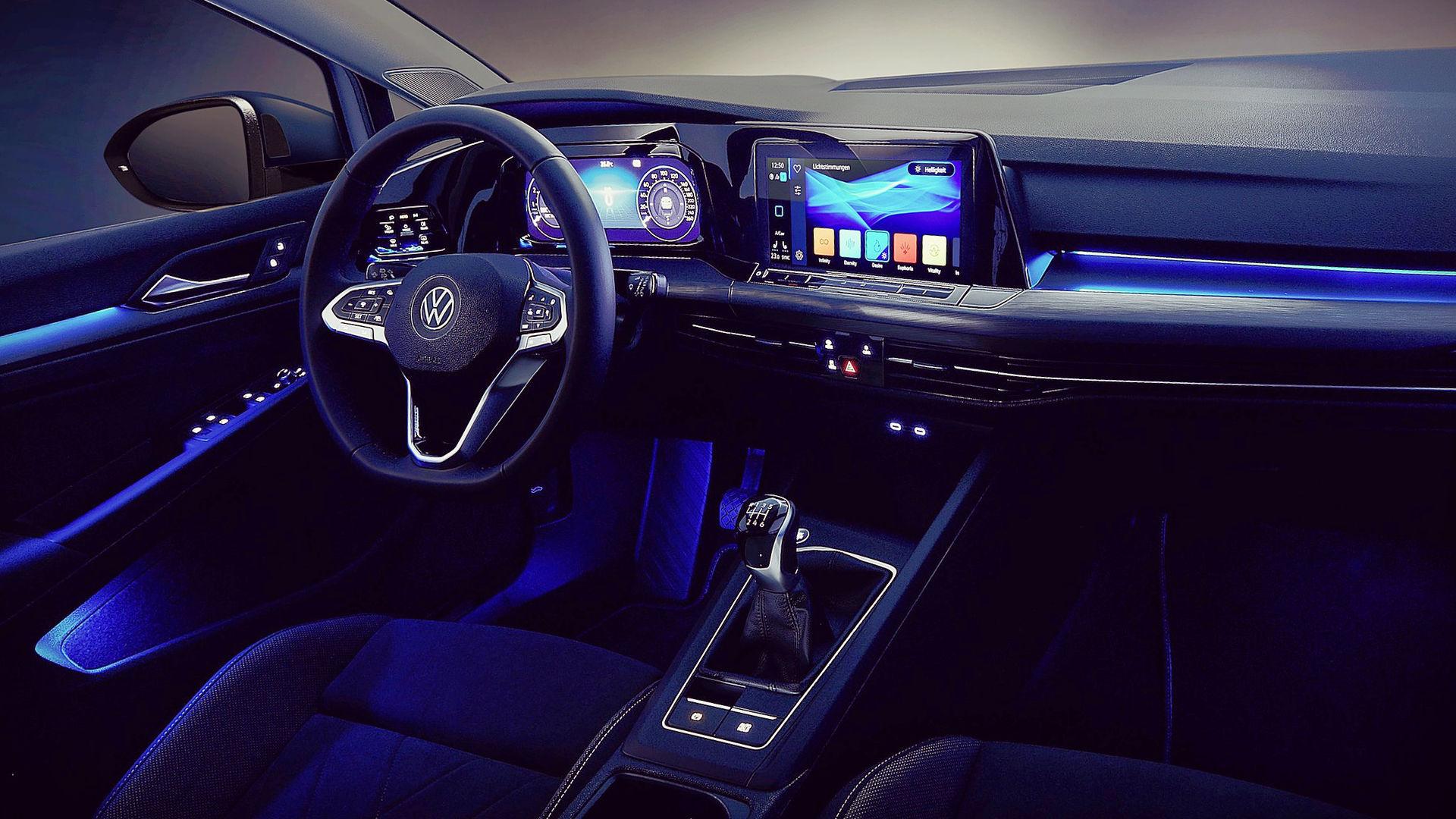2020 VW Golf 8 Interior