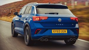 Volkswagen T-Roc R 2020 Back Wallpaper