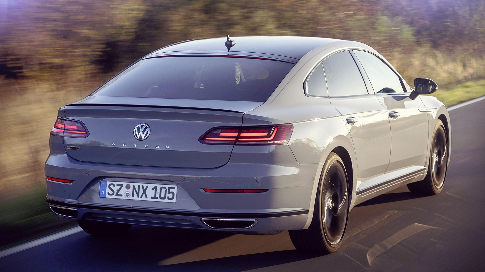 Volkswagen Arteon R Line Edition 2020 Back Wallpaper