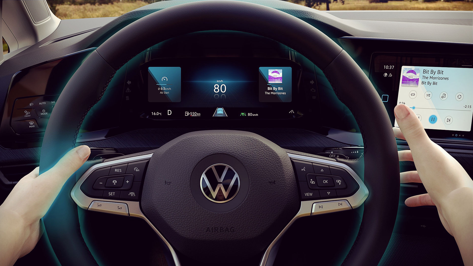 Volkswagen Golf 2020 Steering Wheel Interior