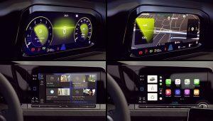 VW Golf 8 2020 Interior