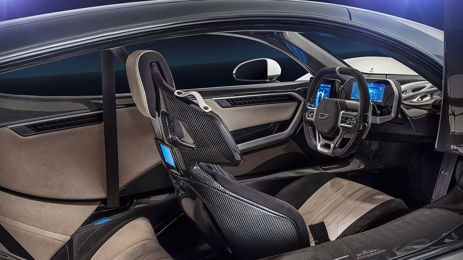2020 Czinger 21C Interior Wallpaper Hd