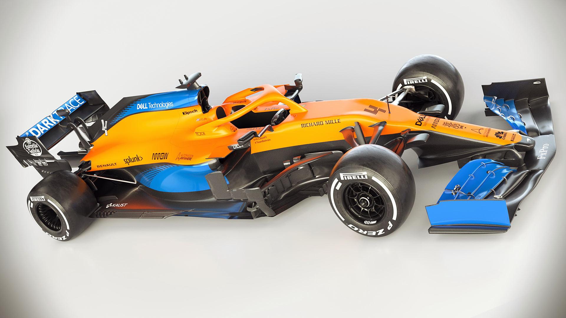 McLaren MCL35 2020 F1 Wallpaper Hd