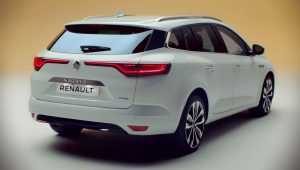 Renault Megane Hybrid 2020 Plug-in Wallpaper