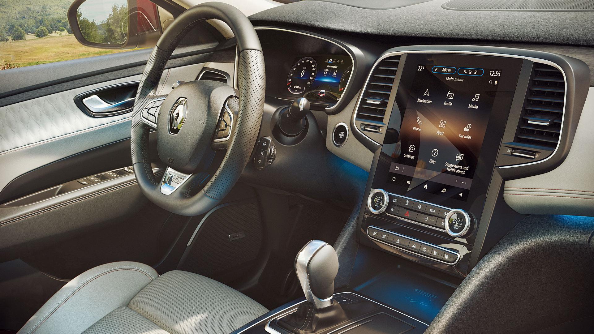 2020 Renault Talisman Interior Wallpaper