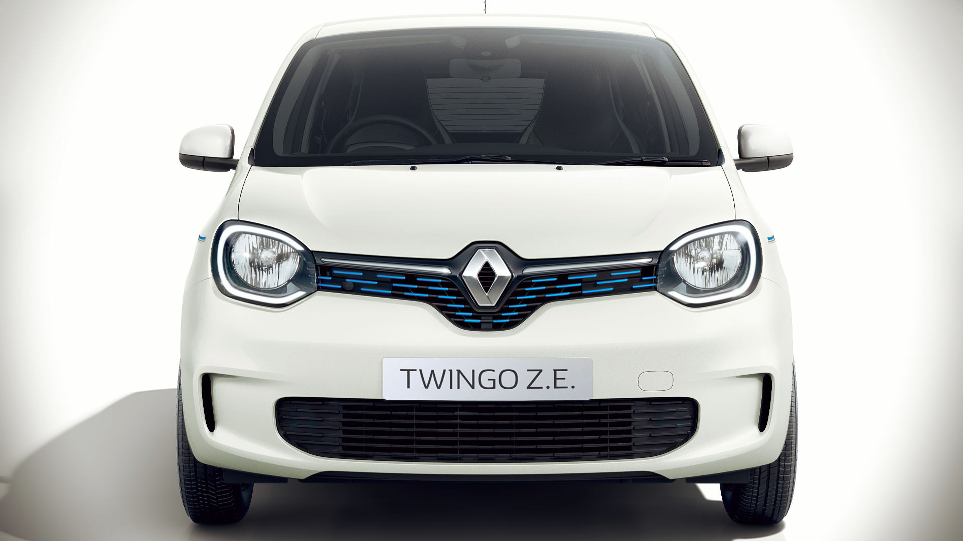 Renault Twingo ZE 2020 Front Wallpaper