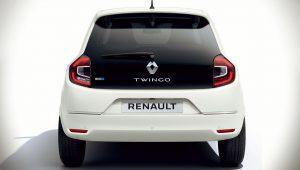Renault Twingo ZE 2020 Back Wallpaper