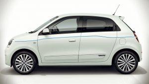 2020 Renault Twingo ZE Side Wallpaper