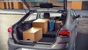 2020 VW Polo Sedan Trunk Wallpaper