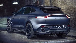 Aston Martin DBX Q 2021 Back Wallpaper
