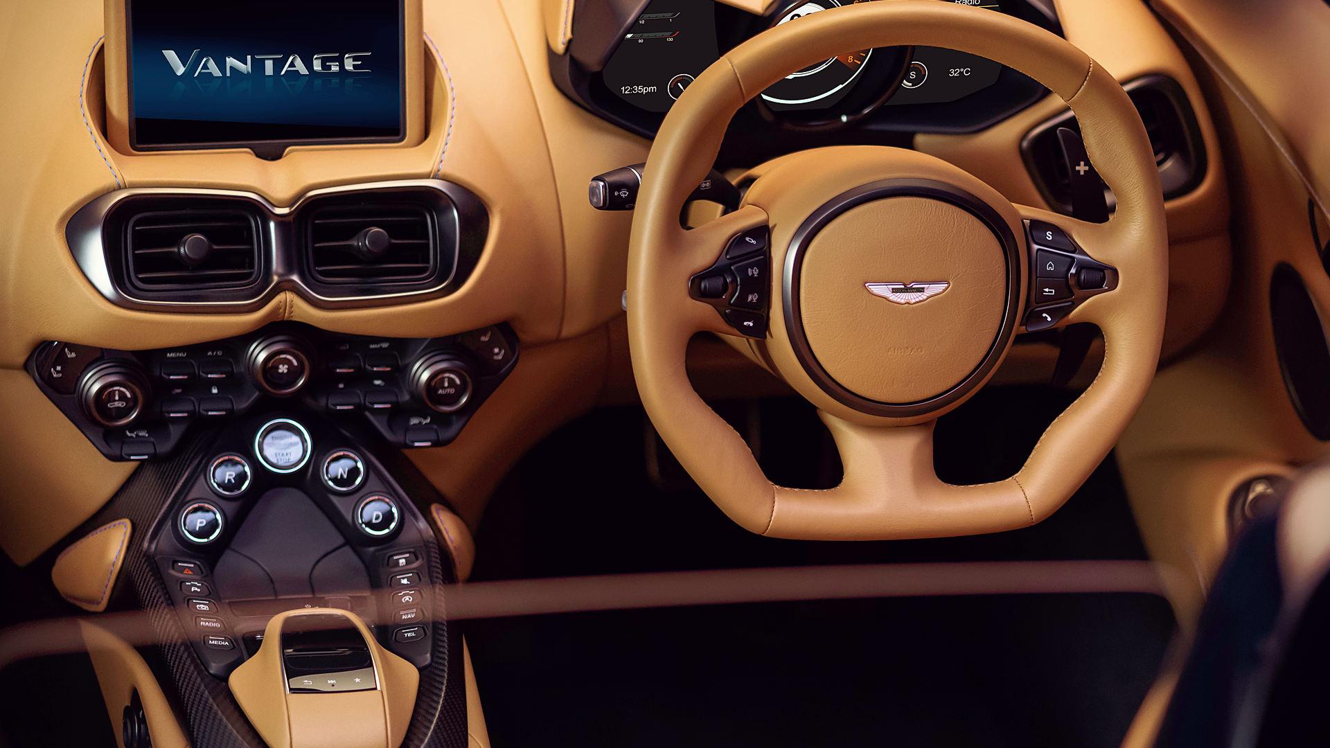 Aston Martin Vantage Convertible 2021 Interior