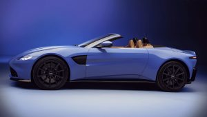 2021 Aston Martin Vantage Roadster Convertible Wallpaper