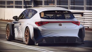 2021 Cupra e-Racer Back Wallpaper
