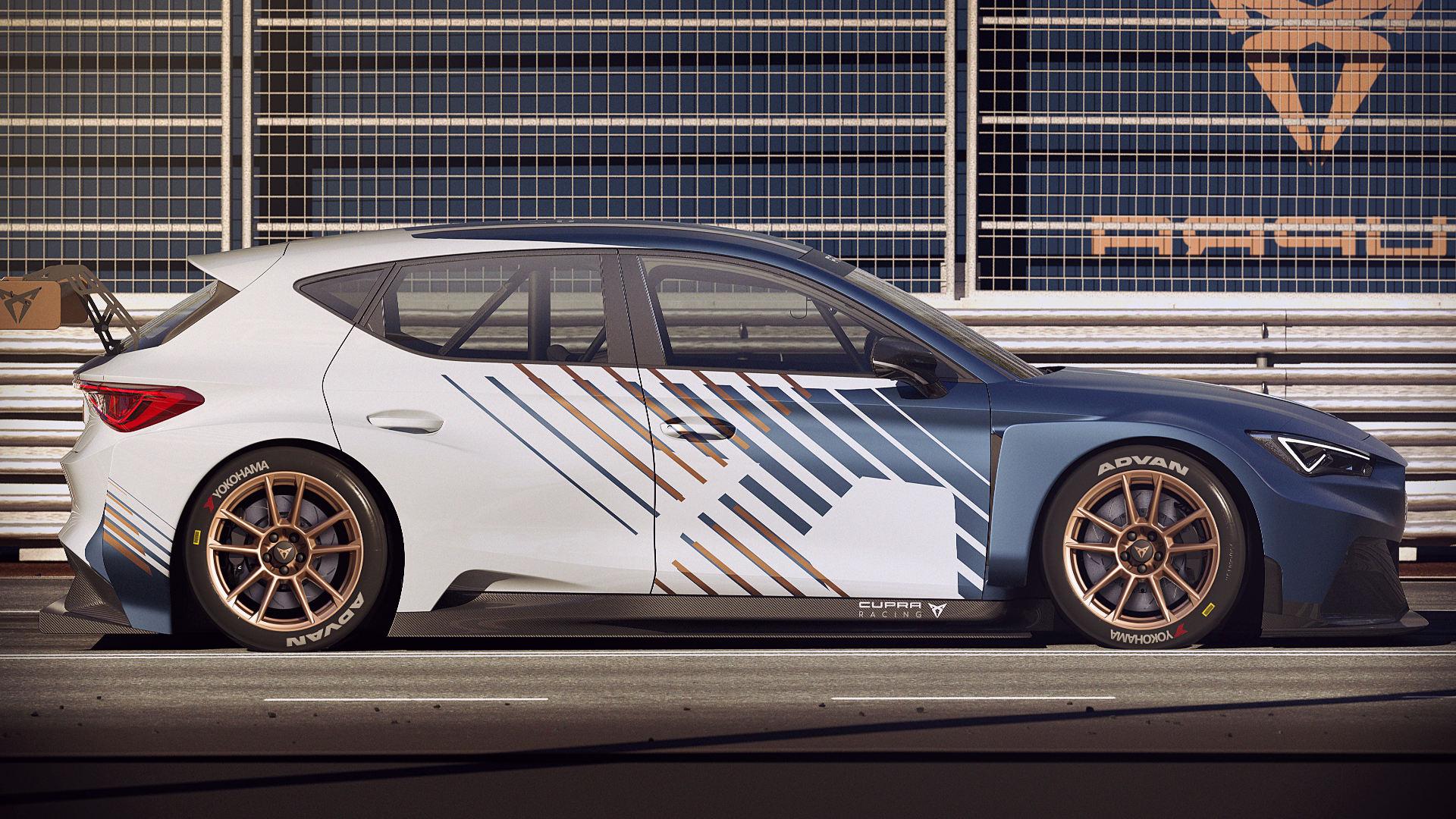 Cupra e-Racer 2021 Side Wallpaper