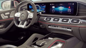 2021 Mercedes AMG GLE 63 S Interior Wallpaper
