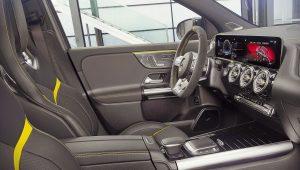2021 Mercedes Benz GLA 45 AMG Interior Wallpaper