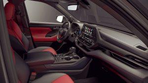2021 Toyota Highlander XSE Interior Wallpaper Hd