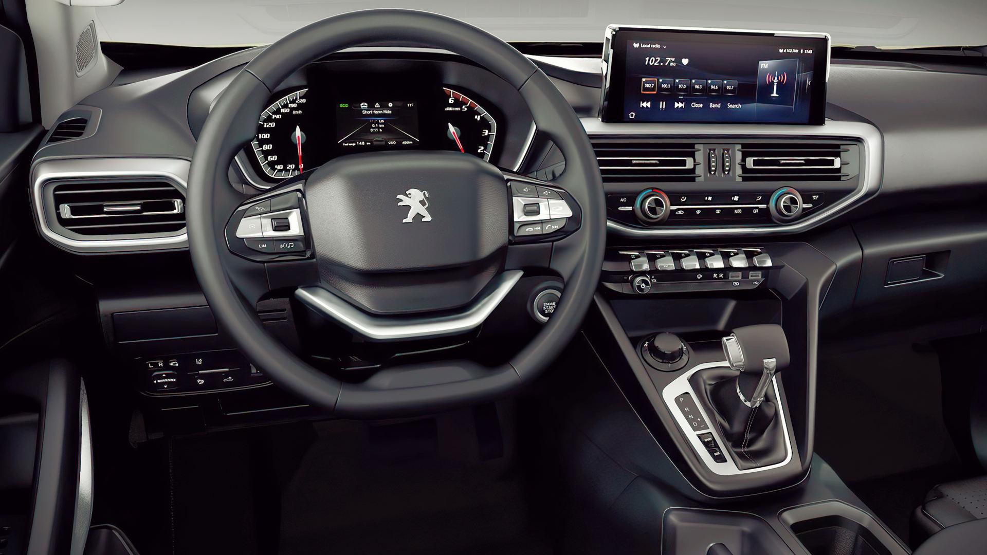 Peugeot Landtrek 2021 Interior Wallpaper
