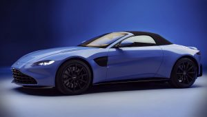 Aston Martin Vantage Convertible 2021 Wallpaper