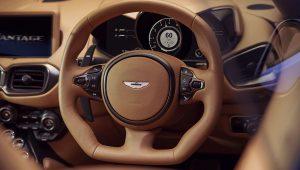 Aston Martin Vantage Roadster 2021 Steering Wheel Interior