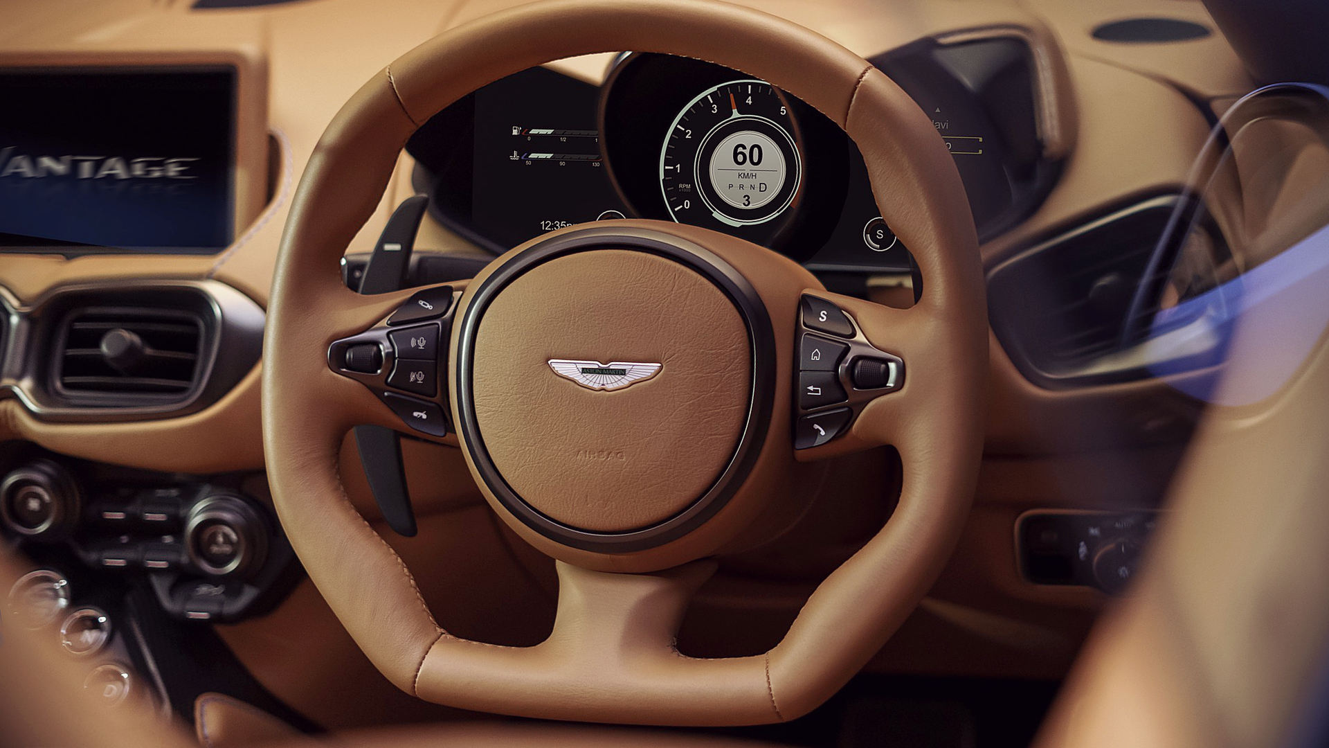 Aston Martin Vantage Roadster 2021 Steering Wheel Interior