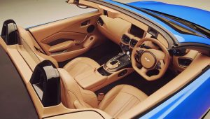 Aston Martin Vantage Roadster 2021 Interior Wallpaper