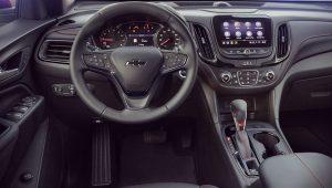 Chevrolet Equinox 2021 Interior Wallpaper