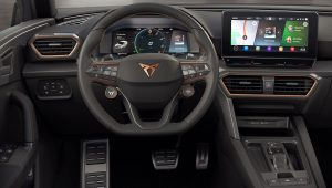 Cupra Leon 2021 Interior Wallpaper