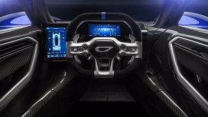 Czinger 21C 2020 Interior Wallpaper