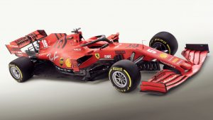 2020 Ferrari SF1000 F1 Wallpaper
