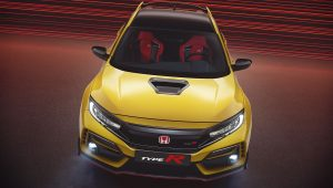 Honda Civic Type R Limited 2021 Top Wallpaper