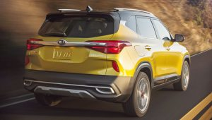 2021 Kia Seltos Back Wallpaper