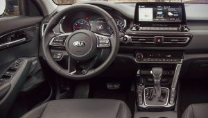 Kia Seltos 2021 Interior Wallpaper