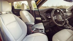 2021 Kia Seltos Seats Interior Wallpaper