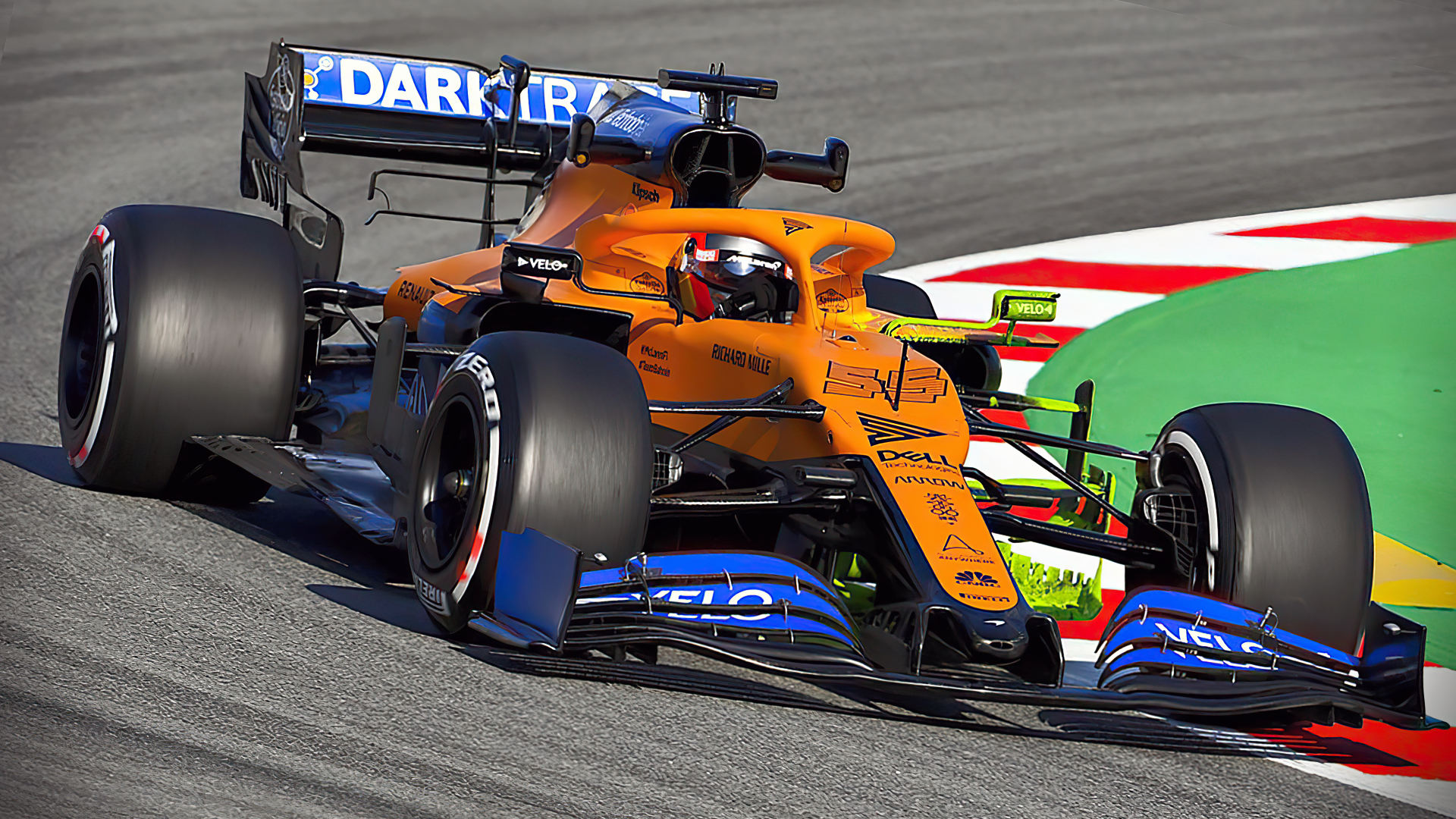 McLaren MCL35 2020