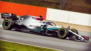 Mercedes F1 W11 2020 Wallpaper
